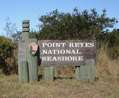Point reyes sign